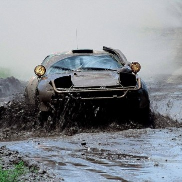 El gran Safari Rally de Kenia