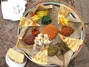 La peculiar y sabrosa comida etiopí