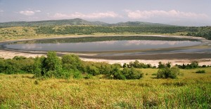 El lago Mburo