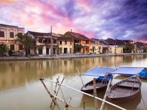 El rio en Hoi An