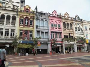 El barrio antiguo de Kuala Lumpur