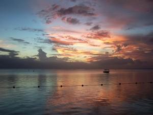 Atardecer en Mauricio