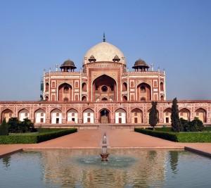 La tumba de Humayun en Delhi