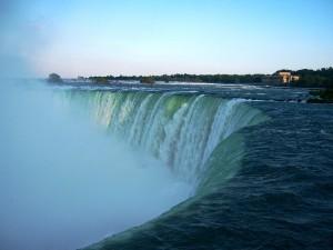 Otra vista de las cataratas de Niagara