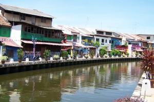 La ciudad colonial de Malaka