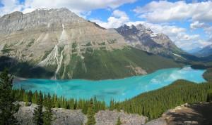 Vista del oeste de Canadá