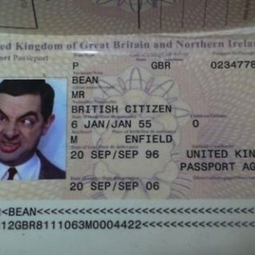 Pasaportes de Celebridades   –  Celebrities passports