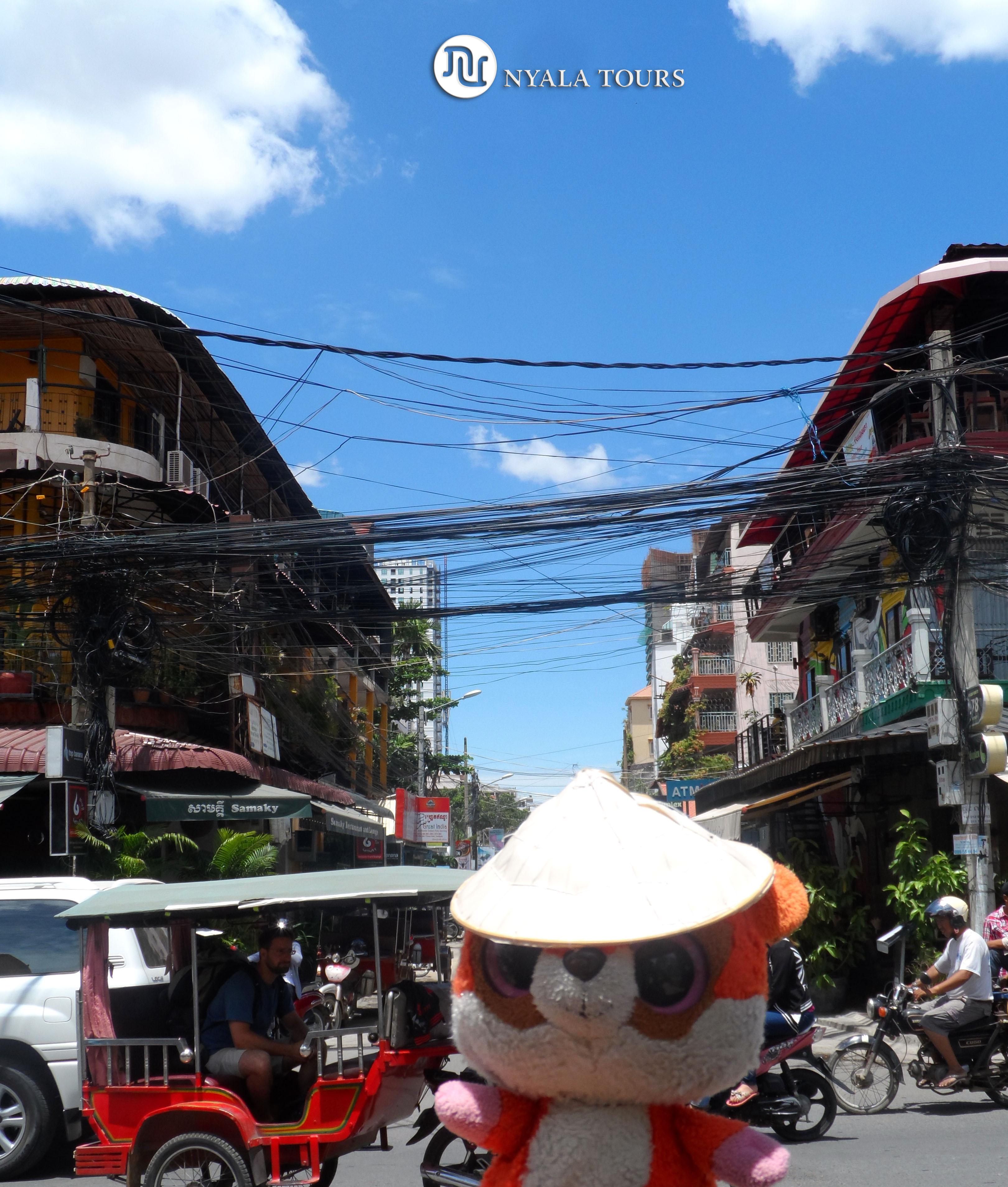 Phnom Penh TOWN, CAMBODIA RUBY