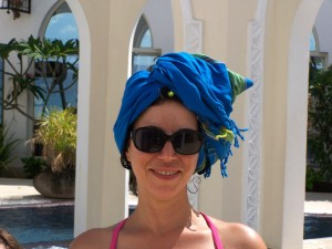 head towel spa hideaway
