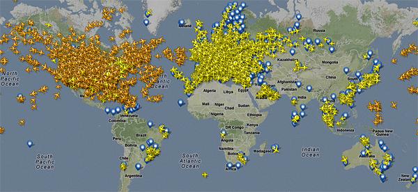 Interesante información de vuelos   Interesting information for flights