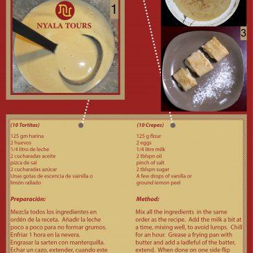Deliciosas Receta de Tortitas o Crepes |Delicious Crepe Recipe