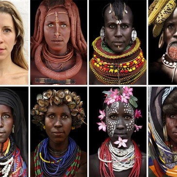 Increible transformación en mujer tribal –  Incredible transform into a tribal woman