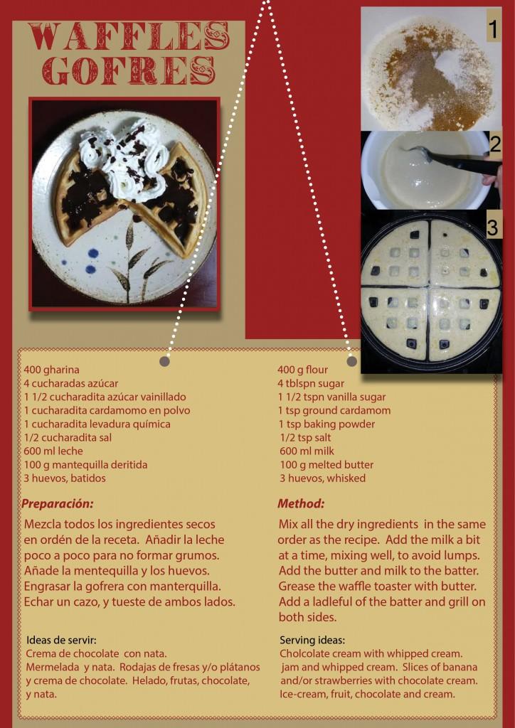waffles -gofres