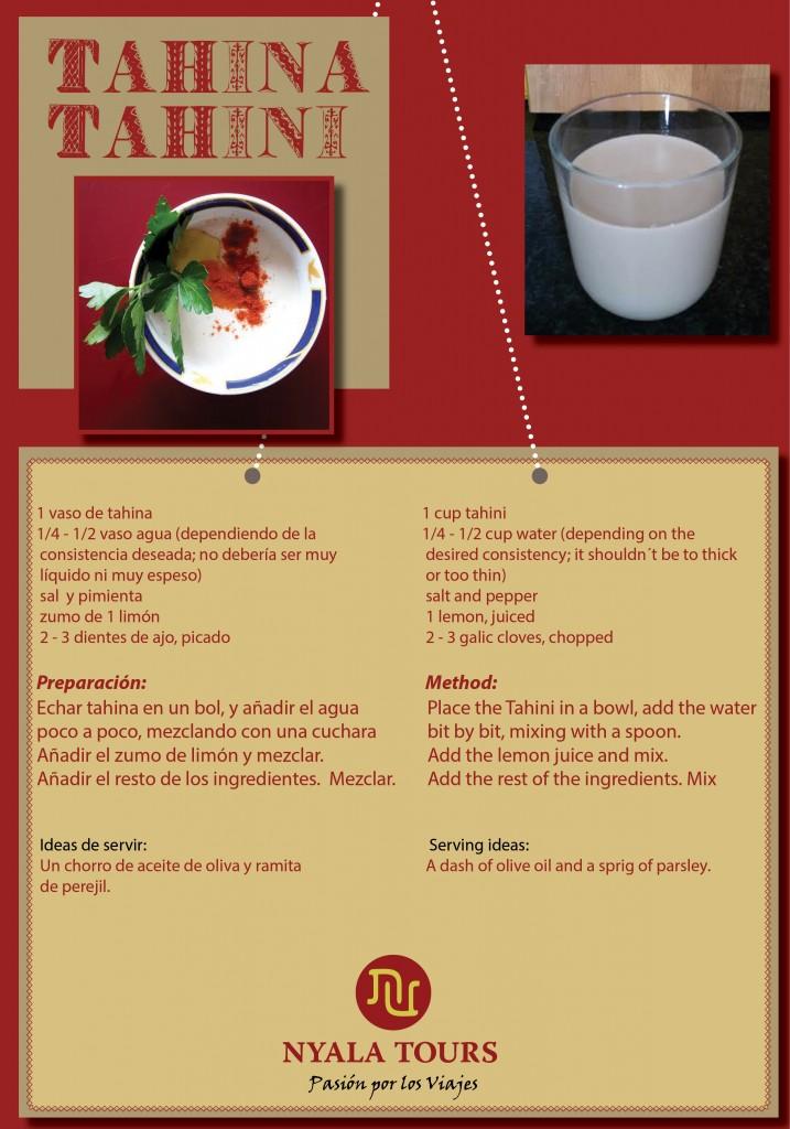 tahina recipe