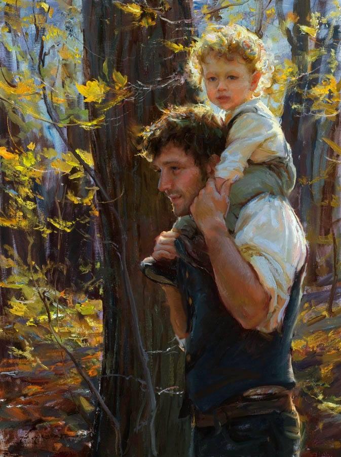 Painting by Daniel F. Gerhartz