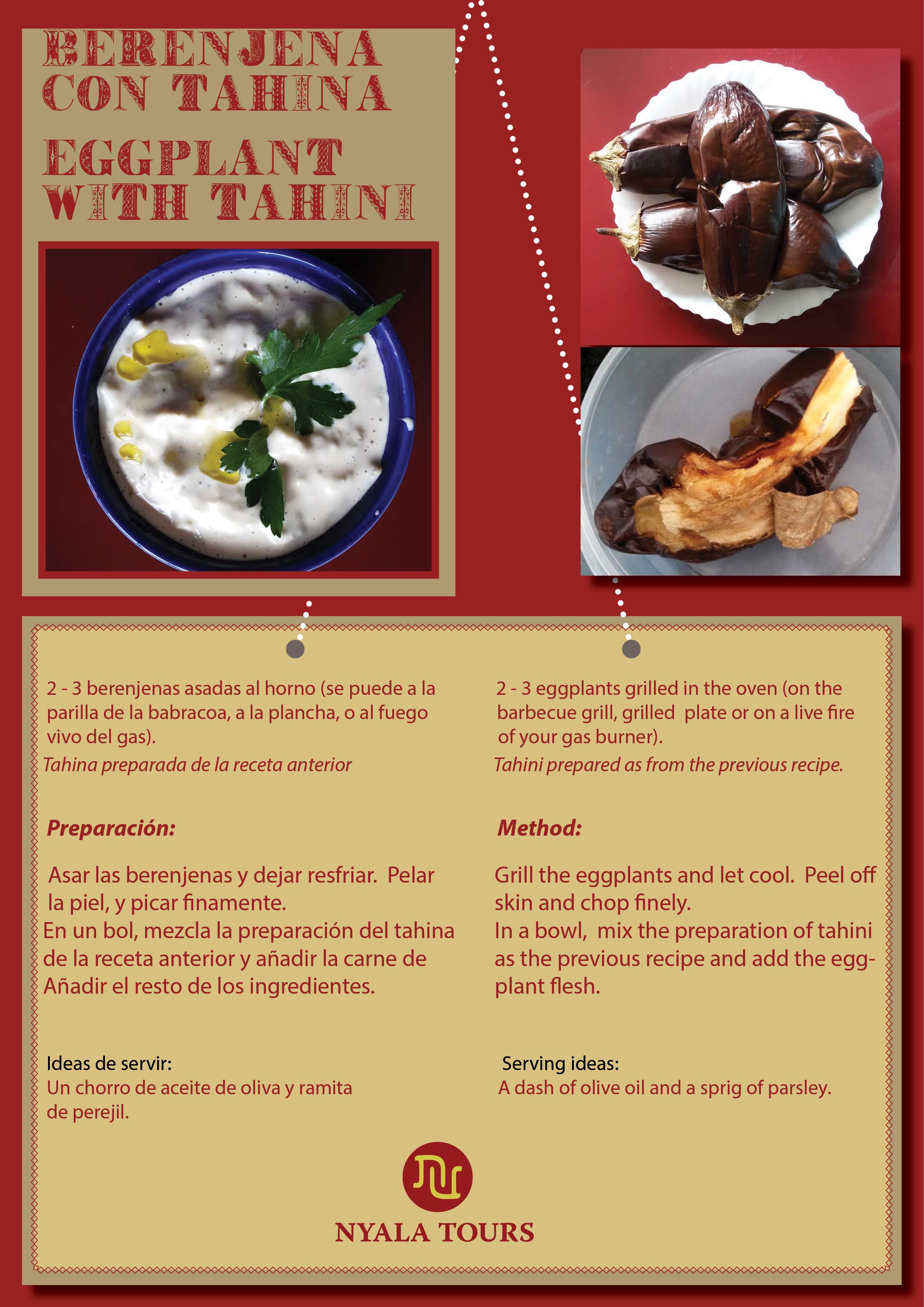 berenjenas con tahina recipe