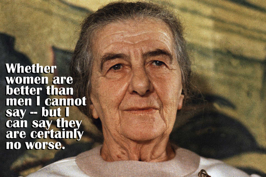 Golda Meir, Israelís Prime Minister in 1970. (AP Photo)