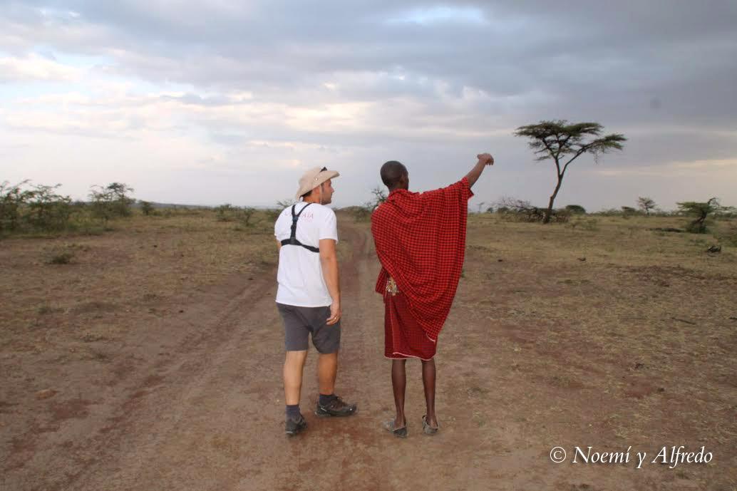 Alf and Masai