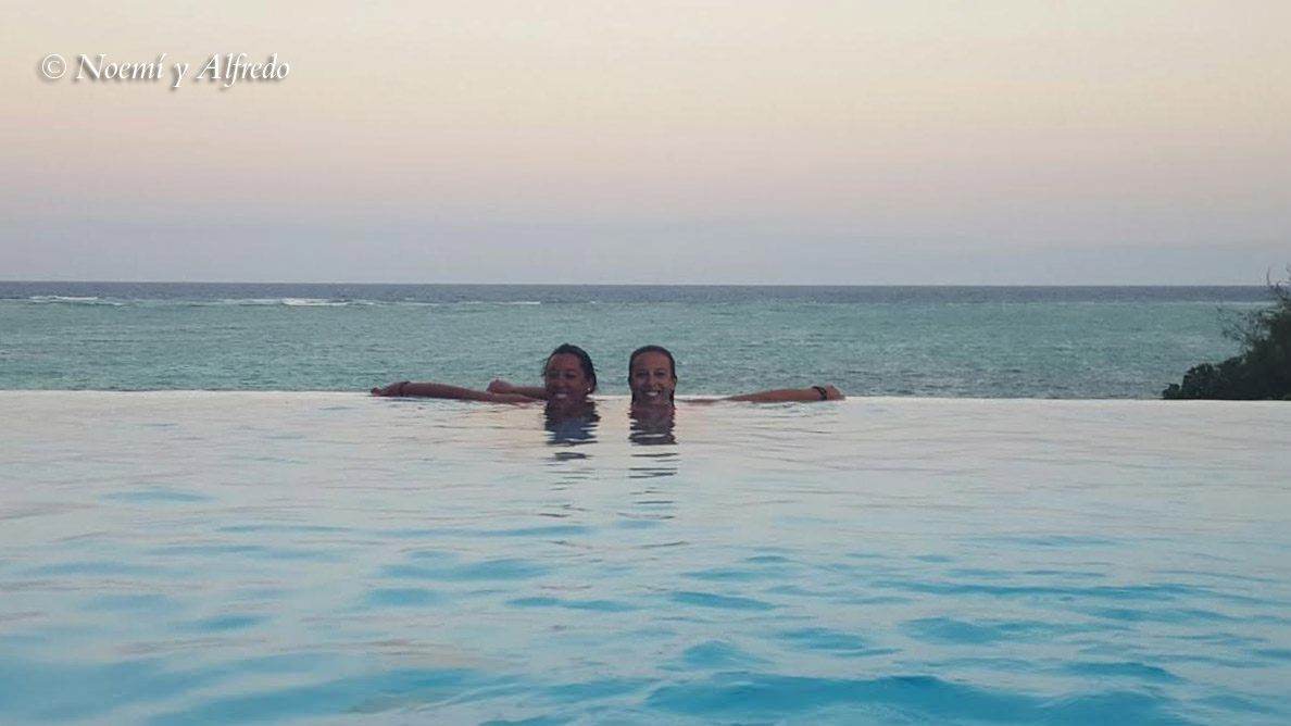 Infinity pool Zanzibar