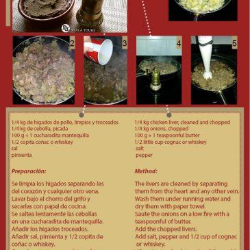 Recetas de Paté | Recipe of Pátê