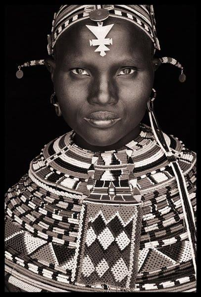Samburu Girl at Wamba, North Kenya