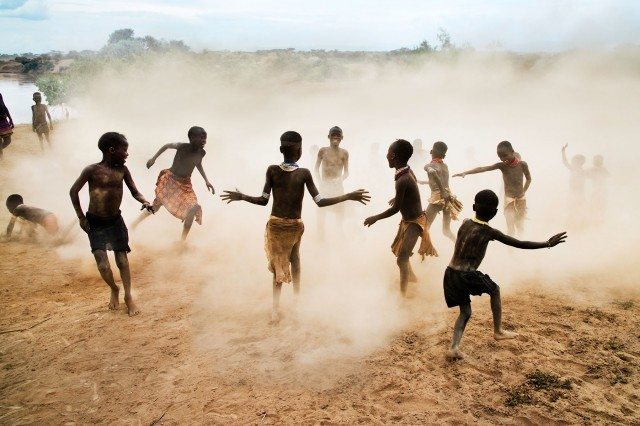 Photographer Steve McCurry's  Ethiopia's Omo Children
